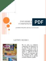 Informe de Competencias Andres Arcila