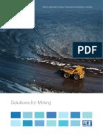 WEG Solutions for Mining 50032660 Brochure English