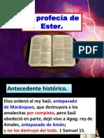 La Profecía de Ester. (1)