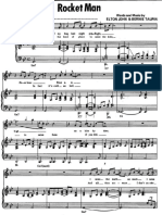 (sheet music - piano) elton john - rocket man.pdf