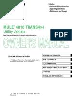 Mule 4010 Trans 4x4