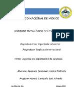 Logistica de Exportacion de Calabaza en Mexico
