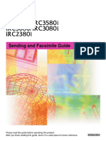 IRC3580 Series FAX Guide En