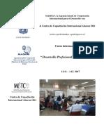 Desarrollo Profesional de Educadores Nov 2017