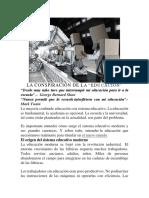 LA CONSPIRACIÓN DE LA.docx