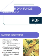 Struktur Fungsi Karbohidrat