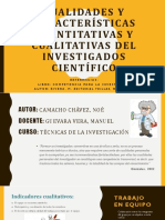 Cualidades Del Investigador Cientifico
