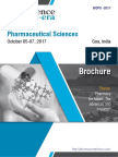 World Congress on Pharmaceutical Sciences WCPS 2017 Brochure