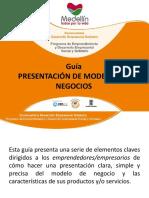 GUIA PRESENTACIÓN MODELO DE NEGOCIOS PP