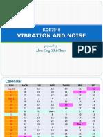 20170916 VIBRATION  NOISE Course Information 2017.pdf
