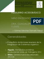 EQUILIBRIO ACIDOBÁSICO