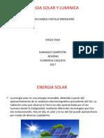 Energia Solar y Luminica