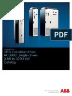 ACS880 Single Drives Catalog 3AUA0000098111 en RevJ
