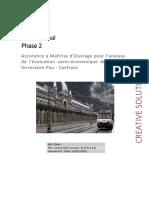 Pau-Canfranc Rapport de Phase 2