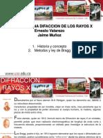 Exposicion Difraccion Rayos X