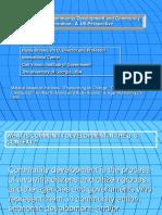 Defining Community Development for Romania Presentation
