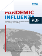 Pandemic Influenza_Guidance for Infection Control