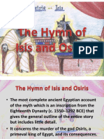 Hymn of Isis and Osiris Report