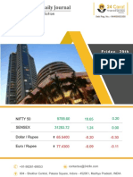 Equity Premium Daily Journal 29th September 2017 Friday