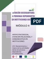 524504 Atención Sociosanitaria a Personas Dependientes en Instituciones Sociales.