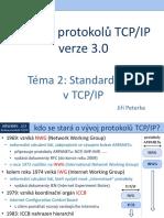 Rodina protokolů TCP/IP, téma 2
