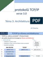 Rodina protokolů TCP/IP, téma 3
