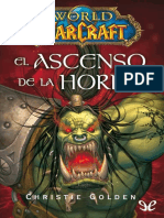 [Warcraft] [World of Warcraft 03] Golden, Christie - El ascenso de la Horda [19304] (r1.2).epub