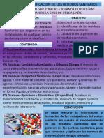 Tipología e Identificación de Los Residuos Sanitarios