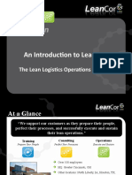 LeanCor Capabilities Presentation - The Lean Logistics Operations Provider