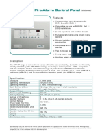 6- Conventional 2-Zone Fire Alarm Control Panel - HFP CP-2