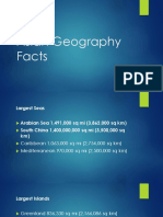 Asian Geography Facts