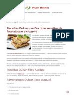 Receitas Dukan Ataque