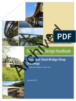 Structural Steel Bridge Shop Drawings