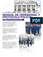 Manual de Ceremonial y Protocolo Policial Curso Instructores