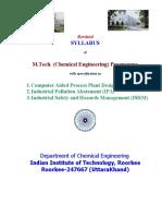 Chemical Engineering Iit Roorkee Copy