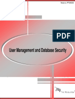 11 User Management and Database Security
