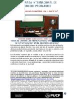 II Jornada Internacional de Derecho Probatorio