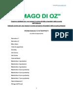MAGO DI OZ Copione Recita Teatro