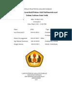 Laporan Praktikum Analisis Farmasi_ Kelompok 4_ Sulfametoksazol