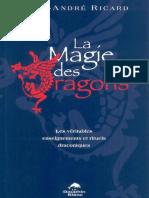 Marc André Ricard DraconiaLa Magie Des Dragons Les Véritables Enseignements Et Rituels Draconiques