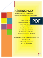 Business Plan ASEANOPOLY - UTS Entrepreneurship