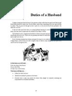 Duties of a Husband