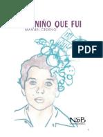 Manuel Cedeño. Libro 1 AutismoDiario