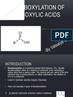 117 Organic Reaction Mechanism - Alphabet D to H