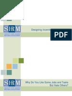 Designing Incentives