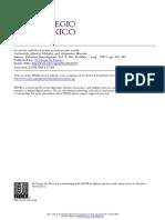 Estudios Sociológicos Volume 9 Issue 26 1991 [Doi 10.2307%2F40420123] Alberto Melucci and Alejandra Massolo -- La Acción Colectiva Como Construcción Social