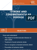 Stroke and Cerebrovascular Disease Gn Rs 5