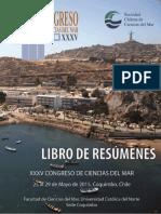 (35) XXXV Congreso de Ciencias Mar 2015
