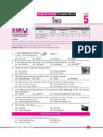 Igko Sample Paper Class-5