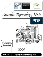 Specific Toxicologyشيرين.net